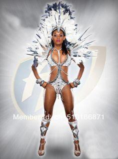 Splendid! Mulheres fantasia de carnaval sexy pena traje teatral para shows/clubes/festas/desempenho/halloween