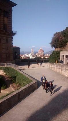 Duomo di Firenze visto dal giardino di Boboli