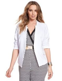 4b29d4b4e1 View our Hartwood Blazer and shop our selection of designer women s plus  size Coats + Jackets