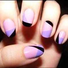 Geometric Nails Vía: Fashion Addict