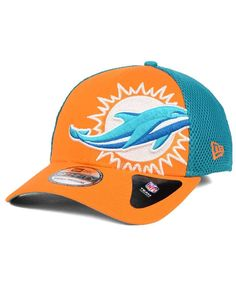 New Era Miami Dolphins Logo Blimp 39THIRTY Cap
