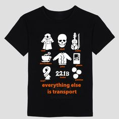 >> Click to Buy << Everything else is transport  Sherlock T-Shirt Men's and women's short sleeve T-shirt #Affiliate