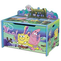 Spongebob toy box!