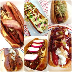 Houston gourmet Hot dogs   www.enmicocinahoy.cl