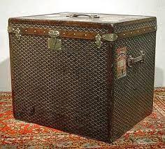 Antique trunks are so versitile