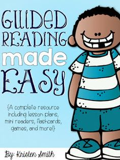 What to do for guided reading? This has lots of ready made introductory games, books, and worksheets.