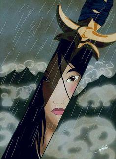 """- """"Il fiore più bello è quello che sboccia nelle avversità"""". - """"Anche io ho visto Mulan"""". #BK #BolognaKara"""
