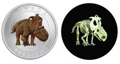 Glow-in-the-dark Canadian coin (Royal Canadian Mint)