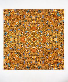 Damien Hirst  Amazing Grace  2003  Butterflies and household gloss on canvas 2134 x 2134 mm | 84 x 84 in    Kaleidoscope painting  Image: Photographed by Gareth Winters © Damien Hirst and Science Ltd. All rights reserved, DACS 2012