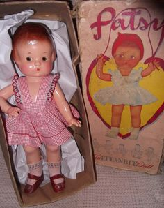 Effanbee Factory Patsy w/ Box Composition Doll