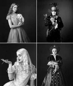 Tim Burton's Wonderland characters