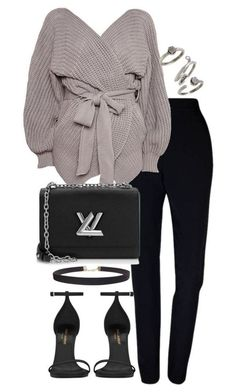featuring Plakinger, Topshop, Yves Saint Laurent, Humble Chic, Louis Vuitton and Kendra Scott Trend Fashion, Look Fashion, Womens Fashion, Fashion Ideas, Fashion Beauty, Fashion Tips, Classy Outfits, Stylish Outfits, Sexy Outfits