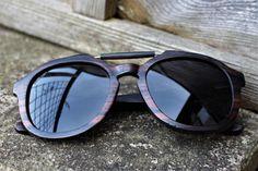 Paul Ven Fox Hunter  wooden sunglasses. Polarized Wood