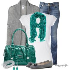 """""""TEAL"""" by happygirljlc on Polyvore"""