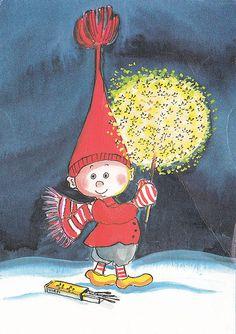 Tähtitikkuja Christmas Fonts, Christmas Artwork, Christmas Paintings, Vintage Christmas Cards, Christmas Pictures, Vintage Cards, Coastal Christmas, Christmas Illustration, Cute Illustration
