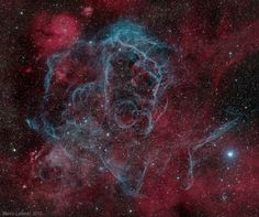 Vela Supernova Remnant or how the universe presents us with the most amazing images ...