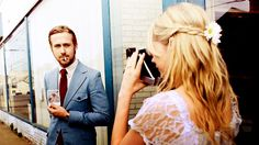 1) Michelle Williams 2) Ryan Goslin 3) Polaroids! Blue Valentine.