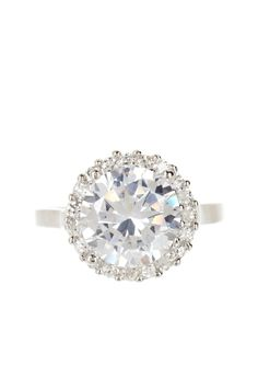Sterling Silver CZ Cocktail Ring by Candela on @HauteLook