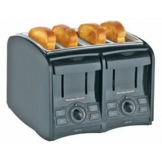 Hamilton Beach Smart Toast 24121 Four Slice Toaster - http://sleepychef.com/hamilton-beach-smart-toast-24121-four-slice-toaster/