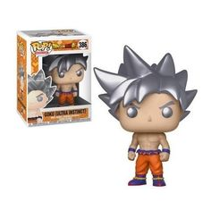 b41c6d36c36 Details about FUNKO POP! ANIMATION  DRAGON BALL SUPER - GOKU (ULTRA  INSTINCT) 386 ~IN STOCK~