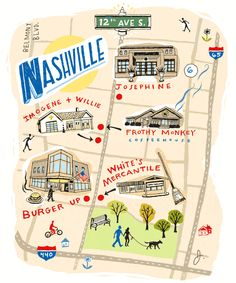 Nashville's 12 South neighborhood was once known more for sketchy streets and abandoned buildings than for vintage homes and bustling businesses—until a handful of locals went all-in to create a place they could be proud of