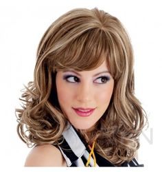 Risque Reaction Soft Wave Wig with Fringe   http://www.nicennaughty.co.uk/risque-reaction-soft-wave-wig-with-fringe.html