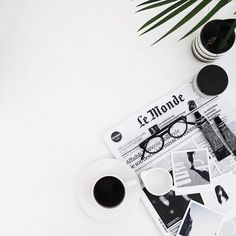 A world without coffee is not the kind of world we want to live in. @thecoveteur black and white