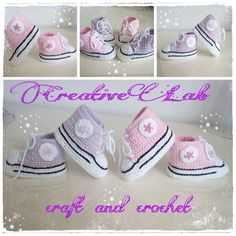 Baby girl Converse crochet Baby Girl Converse, Crochet Baby, Baby Shoes, Kids, Clothes, Fashion, Young Children, Outfits, Moda