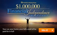 Instant Win Sweepstakes, Online Sweepstakes, Pch Dream Home, Win For Life, Winner Announcement, Publisher Clearing House, Winning Numbers, Thing 1, Good Luck To You