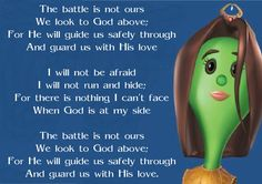 The Battle Is Not Ours song - Esther: The Girl Who Became Queen - VeggieTales Christian Films, Christian Singers, Born Again Christian, I Love The Lord, Get Closer To God, Veggietales, Christian Wallpaper, Gods Not Dead, Clean Memes