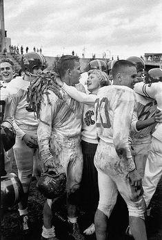 Highschool Football Game, Seattle, 1955