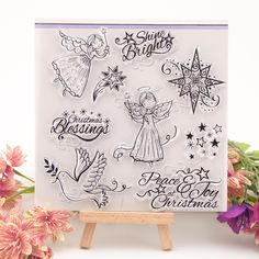 NCraft Clear Stamps N1327 Scrapbook Paper Craft Clear stamp scrapbooking