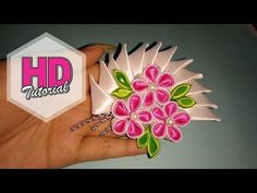 Kreasi Pita - Tutorial Easy Kanzashi Flower - YouTube