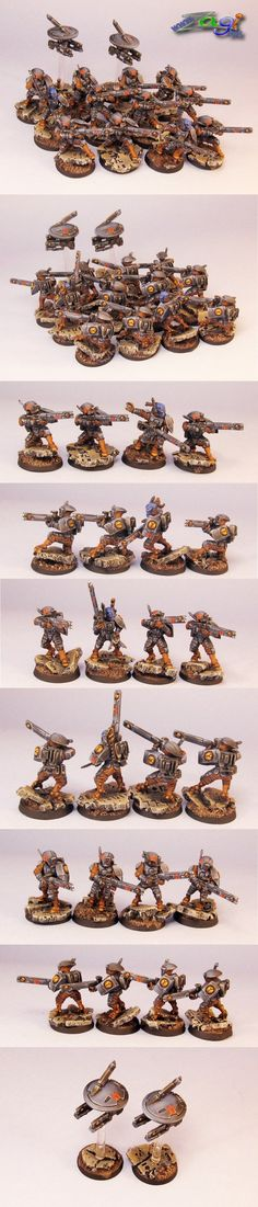 Tau Fire Warriors that don't look like crap
