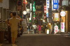 Seoul: Street at night
