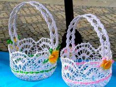 Idę święta Baby Afghan Crochet Patterns, Crochet Flower Patterns, Crochet Designs, Crochet Flowers, Crochet Bowl, Thread Crochet, Crochet Doilies, Crochet Yarn, Crochet Basket Tutorial