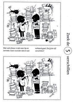 Werkblad Zoek de 5 verschillen