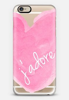 J'adore iPhone 6 case by Michele Spurza | Casetify