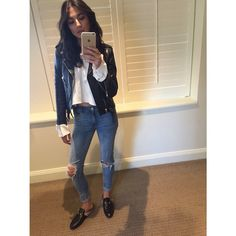 Jessica Gomes @iamjessicagomes  //  wearing RES Denim's 'Kitty Skinny' jeans in the 'Little Wing' wash #RESpresent