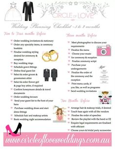 free printable monthly wedding planning checklist ideas for i dos