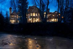 $22.8 Million Aspen, CO   Beds: 7 Bed Baths: 9 Bath House Size: 9,385 Sq Ft Lot Size: 1.46 Acres Year Built: 2001  #10