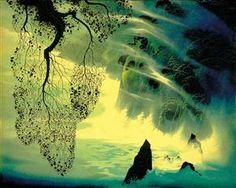 A Swirl of Fog - Eyvind Earle