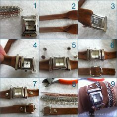 DIY La Mer watch. I love these watches!