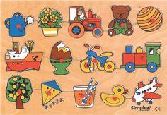 Simplex Speelgoed puzzle