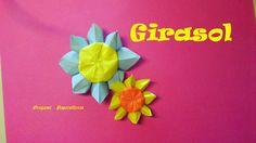 Origami - Papiroflexia. Girasol