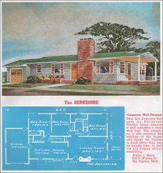 1962 Sterling Homes - The Berkshire