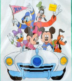 Disney's Mickey Unlimited Cruisin' Mickey by GoldenThreadSupplies