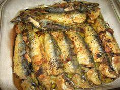Receita de Sardinhas à Tanoeiro - http://www.receitasja.com/sardinhas-a-tanoeiro/