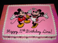 Minnie Mouse Sheet Cakes Minnie Mouse Cake Stuff
