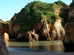Praia dos 3 Irmãos, Alvor, Algarve. Very picturesque indeed!